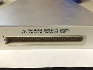 National Instruments 32 Channel Multiplexer Amplifier Ni Scxi 1100