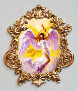 Angel 1 Applique Furniture Mount Decor Faux Ormolu