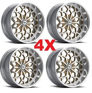 Pro Wheels Snowflake 22 Snow Flake Forged Billet Rims Custom Year Intro One