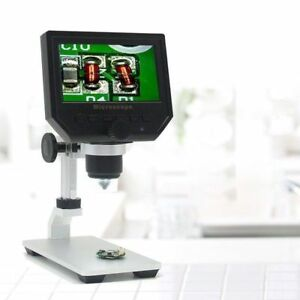 New 1080p 4 3 Lcd Digital Microscope Led 3 6mp Hd Zoom Camera Video Recorder