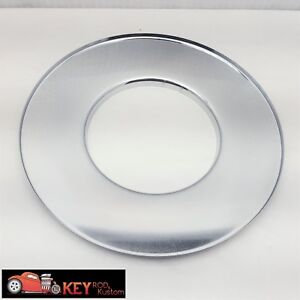 14 Chrome Steel Dominator Air Cleaner Flat Base Chevy Ford Sbc Bbc Holley