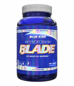 Blue Star Nutraceuticals Blade Yohimbine Free - Fat Burning (120 Capsules)