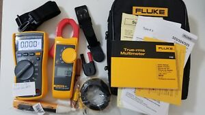 New Other Fluke 116 323 Electrician Kit With Accessories And More Great Tool