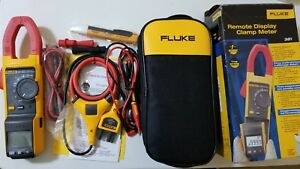 New Fluke 381 True rms Ac dc Clamp Meter With Iflex Tp 239355