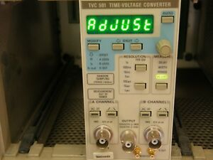 Tektronix Tvc501 Time Voltage Converter For Tm500 Chassis