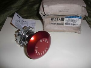 Cutler hammer Emergency Stop Push Button red Eaton 10250t5j63 51 2nc