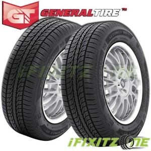 2 General Altimax Rt43 185 65r14 86h Tires