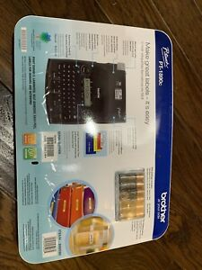 Brother P touch Pt 1890c Thermal Machine Label Maker Bundle new