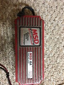 Msd 6a 6200 6300 Ignition Box Multi Spark Discharge