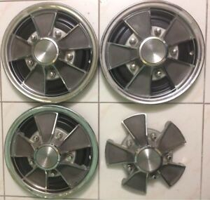 Ford 1968 And 1969 Galaxy Shelby Cobra Mustang Gt Mag Wheel Covers Hubcaps
