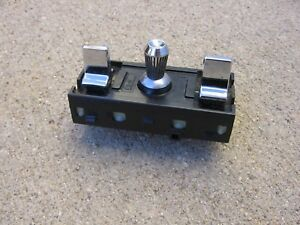1984 1987 Gm Buick Regal Grand National Chrome Power Seat Switch 20702837 Super