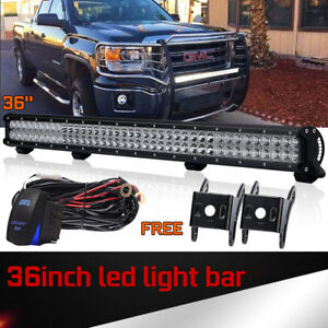 36inch 234w Cree Led Light Bar Spot Flood Combo Truck Offroad Driving