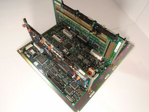 Brother Tc 227 Drill And Tape Main Pc Board Com Pcb And Atio Pcb