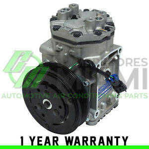 New A c Compressor And Clutch York Fits Freightliner Fs65 1996 2008 Abpn83304161