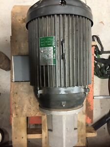 Lincoln Electric 20 Hp Electric Motor 230 460 Volts 3 Phase Never Used