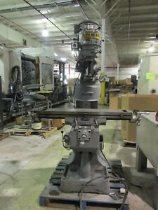 Supermax Titan Yc 1 1 2 Vs t42 V Speed Turret Milling Machine Exc Cond Cool