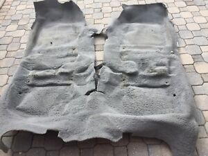 2001 2011 Ford Crown Victoria Grand Marquis Floor Shifter Carpet Oem Gray 9