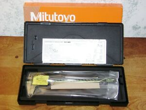 Mitutoyo Digital Caliper No 500 197 30 W Case 8 Inch Japan New