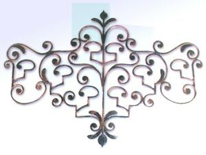Coat Hangers Clothes Hook Wrought Iron Retractable 7 Places Black Made Italy