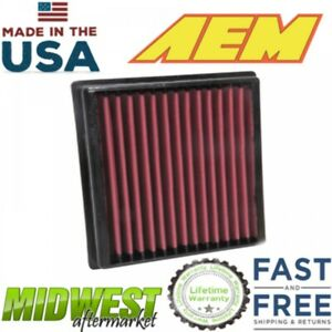 Aem Dryflow Washable Air Filter Fits 2012 2019 Toyota Camry 3 5l V6