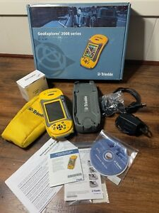 Trimble Geo Xt 2008 Series With Arcpad 10 Case Cables Cd Box Paperwork