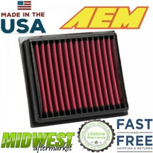 Aem Dryflow Air Filter Fits 2014 2018 Fiat 500x Jeep Renegade 1 4l 1 6l 2 0l