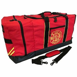 Thefirestore Firefighter Helmet And Turnout Gear Bag