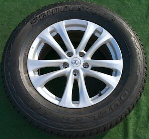 Set 4 Genuine Oem Factory Infiniti Fx35 Fx45 Wheels 95 Tires Murano Pathfinder
