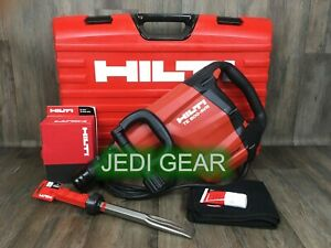 New hilti te 800 Avr Complete Kit Demolition Hammer Drill Demo Jack 905 1000 700