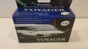 Tekonsha Voyager 9030 Electric Trailer Brake Controller 1 4 Axle Brake System