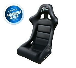 Nrg Frp Bucket Seat In Black Vinyl Frp 310 shield