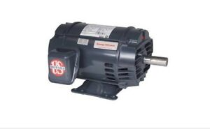 5 Hp Electric Motor 1800 Rpm 182t Us Motor 230 460 3 Phase