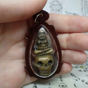 Kuman Thong Thai Amulet Golden Boy Voodoo Talisman In Case Powerful Protect