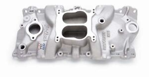 Edelbrock 2101 Performer Intake Manifold 1955 86 Small Block Chevy