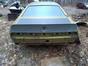 68 69 70 Amc Amx Javelin Rear Spoiler