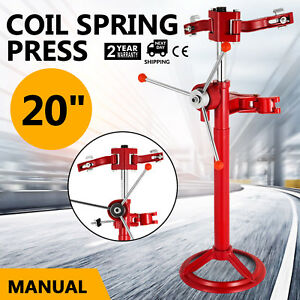 20 Hand Operate Strut Coil Spring Press Compressor Auto Shock Tool Easy On Sale