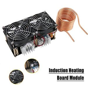Induction Heating Board Module Flyback Driver Heater Tesla Coil fan 40a 1800w