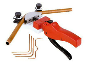 Multi Copper Pipe Bender Tube Bending Tool Kit With Tube Cutter Aluminum Wk 666