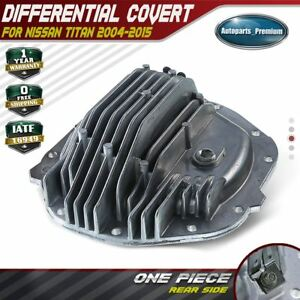 Differential Cover Rear 697 817 Fits 2004 2015 Nissan Titan V8 5 6l 383508s10a