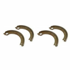 Set Of 4 Brake Shoes For Ford Tractors Nca2218b 860 850 771 820 821 811 871 660