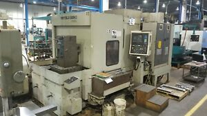 Mitsui Seiki Hs5a 2 25 Pallets Cts Fanuc 15 180 Atc 4th Axis New 1994