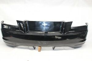2005 Chrysler Crossfire Zh Coupe 115 Rear Bumper Cover Black