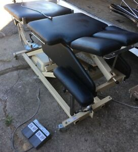 Chattanooga Mobilizer Tme 3 Power Chiropractic Physical Massage Table Traction