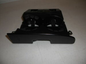 94 97 Dodge Ram Front Center Dash Pull Side Out Double Drink Cup Holder Unit