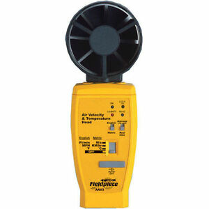 Fieldpiece Aav3 Air Velocity And Temperature Accessory Head Anemometer Hvacr