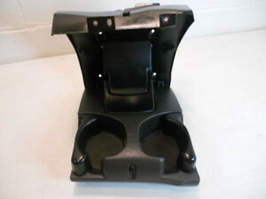 98 01 Dodge Ram Truck Front Center Double Cup Drink Holder Black 1500 2500 3500