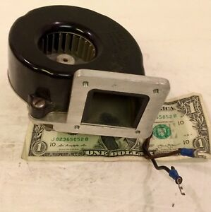 Vtg Used Working L r Mfg Co Squirrel Cage Blower Centrifugal Fan 115v 2 1 2