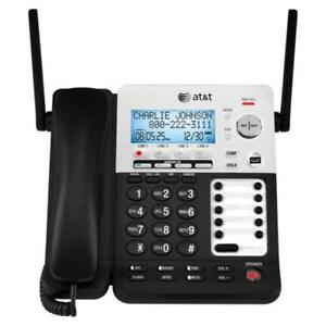 Att Synj Sb67158 Dect 6 0 4 line Corded cordless Small Business Phone System Wi