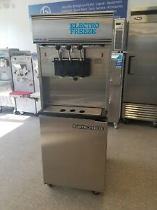 2013 Electrofreeze 99t rmt Frozen Yogurt Pressurized Machine 3ph Water Cooled