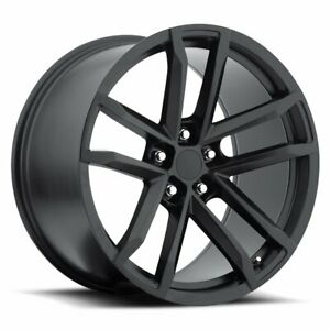 Factory Reproductions Fr 41 Camaro Zl1 Rim 20x9 5x4 75 Offset 27 Blk Qty Of 1